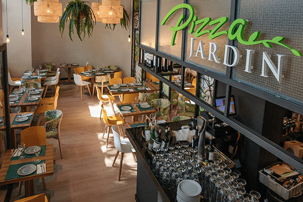 Restaurante Italiano Pizza Jardín